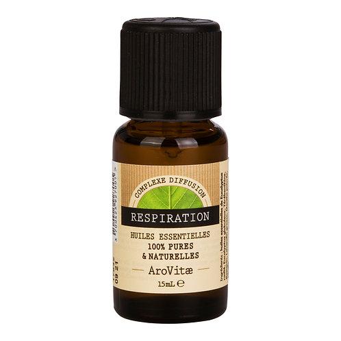 Arovitae – Complexe d'huiles essentielles RESPIRATION – 15mL