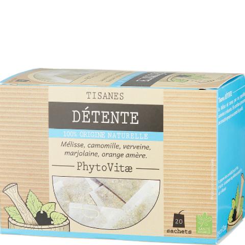 Phytovitae tisane détente – 20 sachets