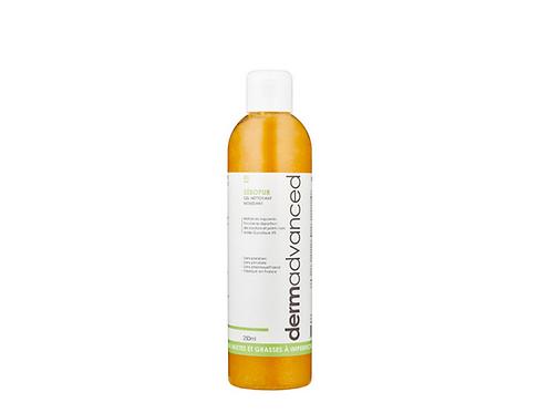 Sébopur – Gel nettoyant moussant 250mL