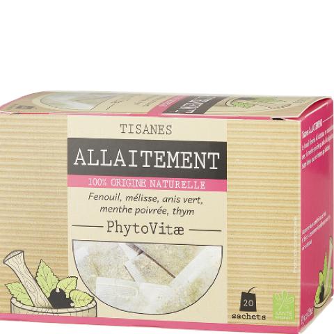 Phytovitae tisane allaitement – 20 sachets