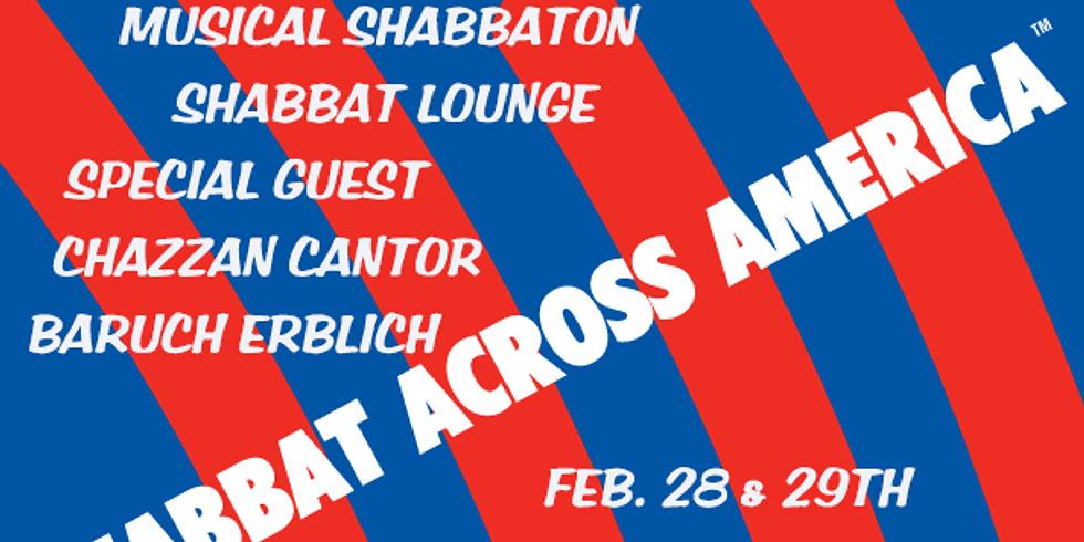 "Shul on the Beach and Shabbat Across America Presents, a ""Musical"" Shabbaton Feb.28th-29th"