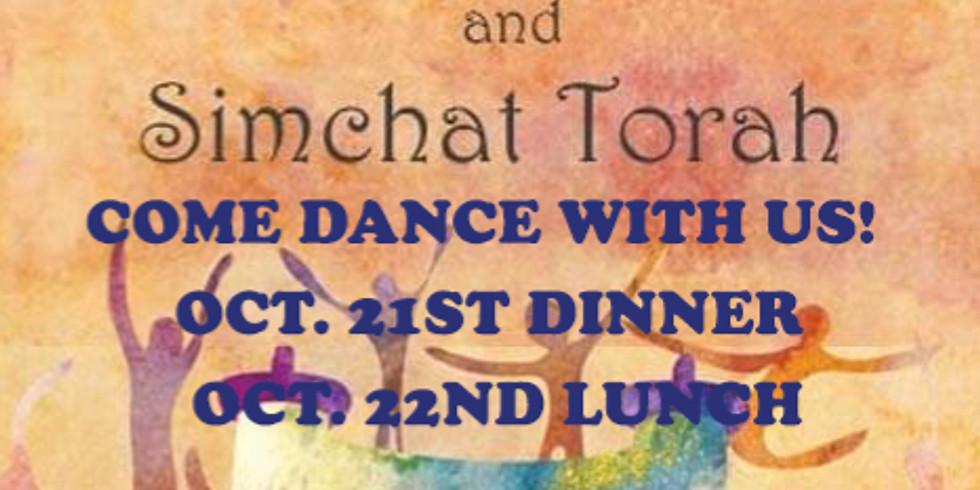 Shemini Atzeret & Simchat Torah