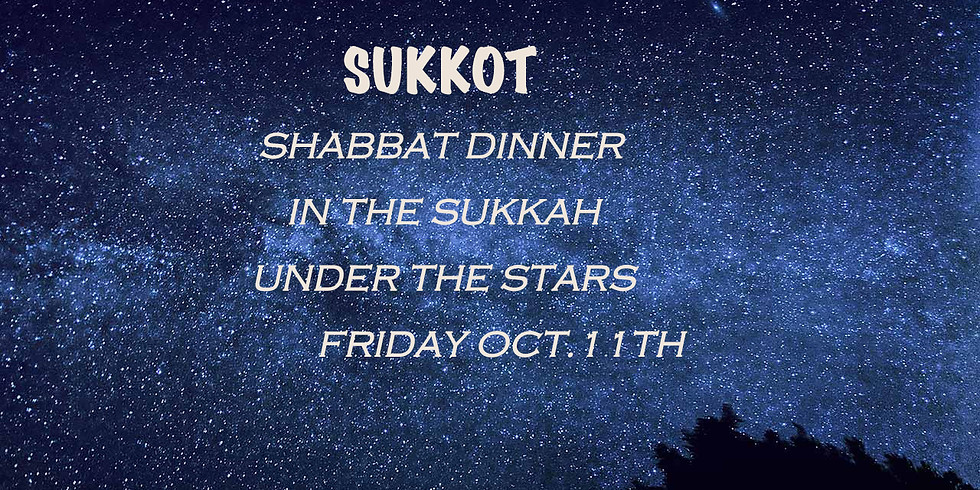 Shabbat Dinner in the Sukkah