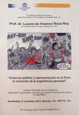Conferencia: Violencia política y representación en el Perú: la narración de la experiencia personal