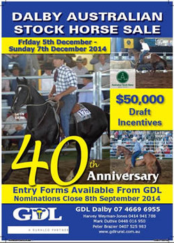 Dalby Stock Horse Sale 2014 Catalogue