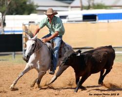 Karl Burton riding Sweet Dash to Destiny to win the Under 6 Sale Incentive Draft