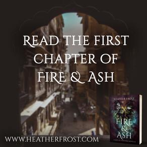 Fire & Ash - Chapter 1 Sneak Peek