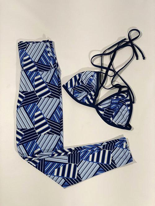 Blue Stripes Set