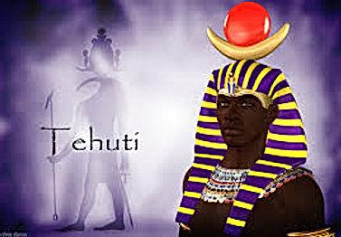 Tehuti. Ancient Kemetic God