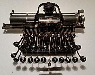 Blickensderfer_No._5_,_early_model,_1894
