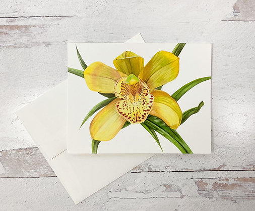 Orchid II Card