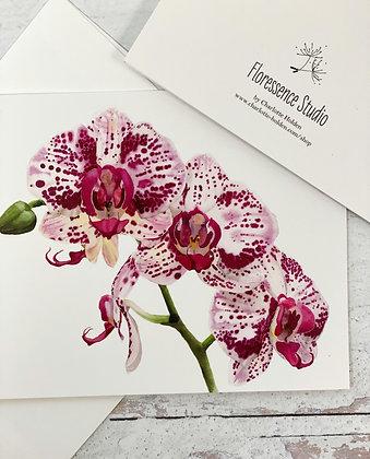 Orchid III Card