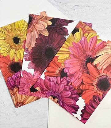 Gerbera Daisy Greeting Card Set
