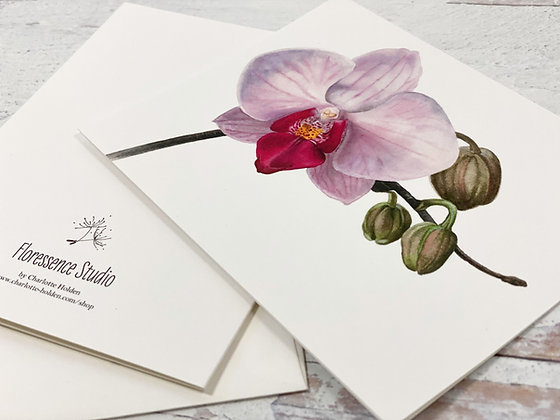 Orchid I Card