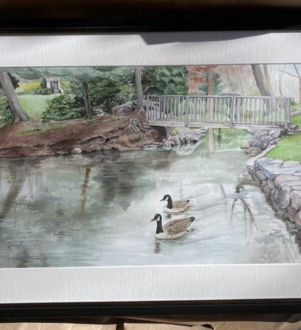 Final Piece framed