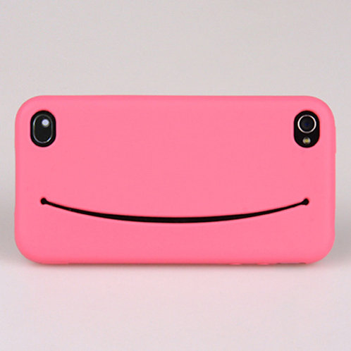 Feed me for iPhone 4/4s Hot pink