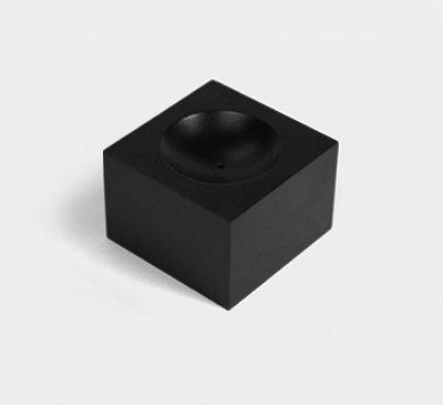 Incense Holder / Tea Light Holder_black