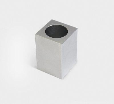 Candle holder / vase_silver