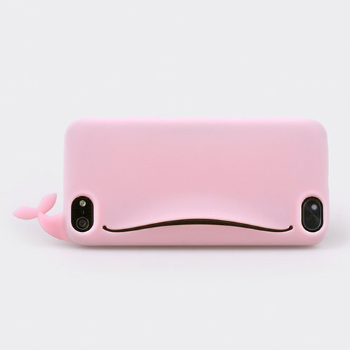 Whale Feedme for iPhone 5 Pink