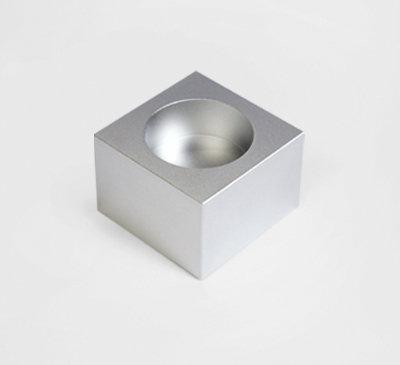 Incense Holder / Tea Light Holder_silver