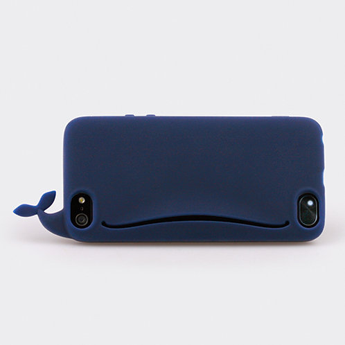 Whale Feedme for iPhone 5 Navy
