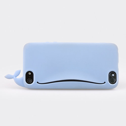 Whale Feedme for iPhone 5 Blue
