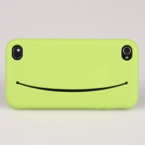 Feed me for iPhone 4/4s Green
