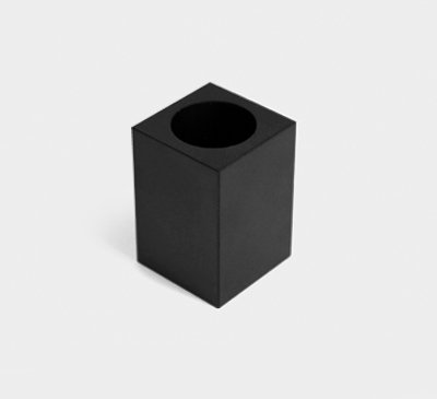 Candle holder / vase_black