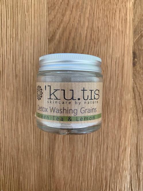 Ku.tis Detox Organic Washing Grains - Green Tea and Lemon
