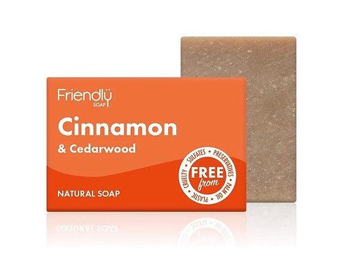Friendly Soap - Cinammon and Cederwood Soap