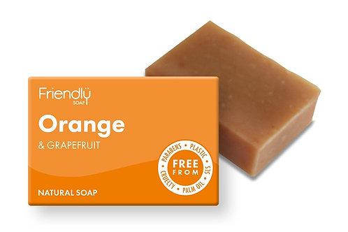 Friendly Soap - Orange and Grapefruit Soap