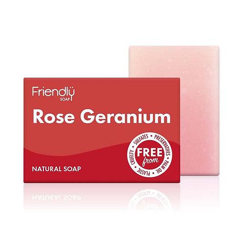 Friendly Soap - Rose and Geranium