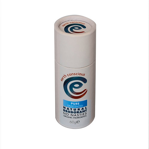 Earth Conscious Pure Unscented Deodorant