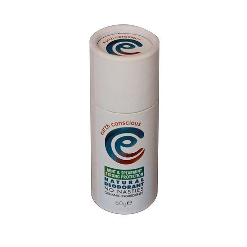 Earth Conscious STRONG PROTECTION Peppermint and Spearmint  Deodorant