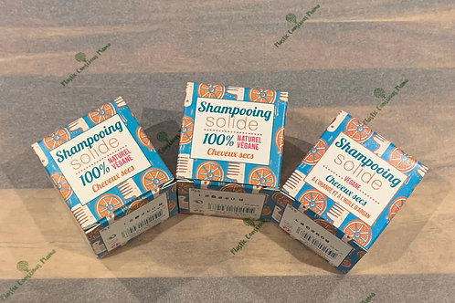 Lamazuna Orange flavour solid shampoo for dry hair