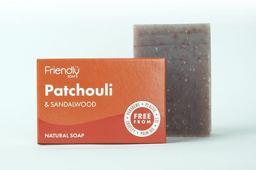 Friendly Soap - Patchouli and Sandalwood
