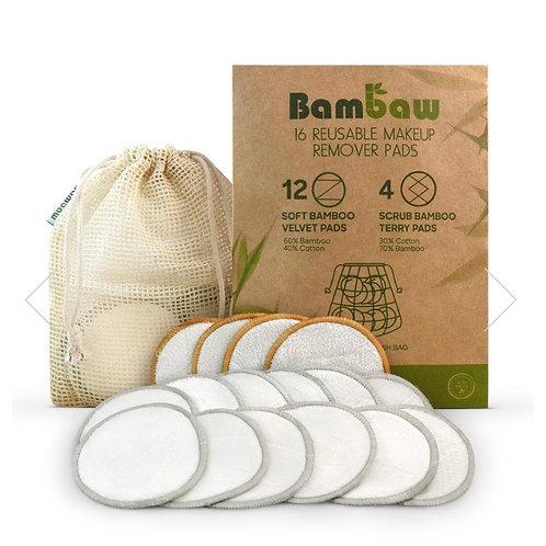 Bambaw make-up pads (16 pads plus wash bag)