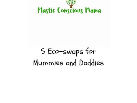 How to Eco-Parent