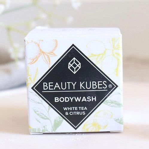 White Tea and Citrus body wash Kubes