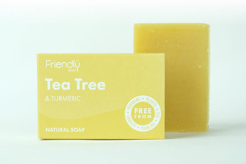 Friendly Soap - Tea Tree and Tumeric