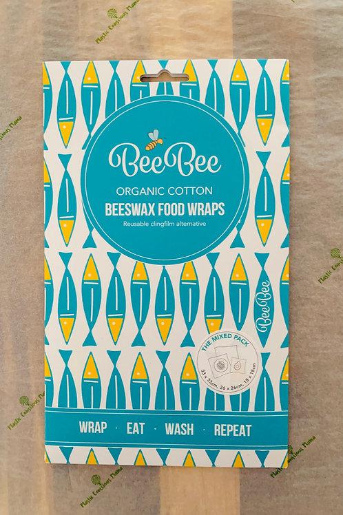 BeeBee Wraps - Sardine Print