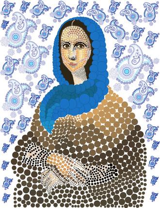 Mona Lisa Reinterpretation