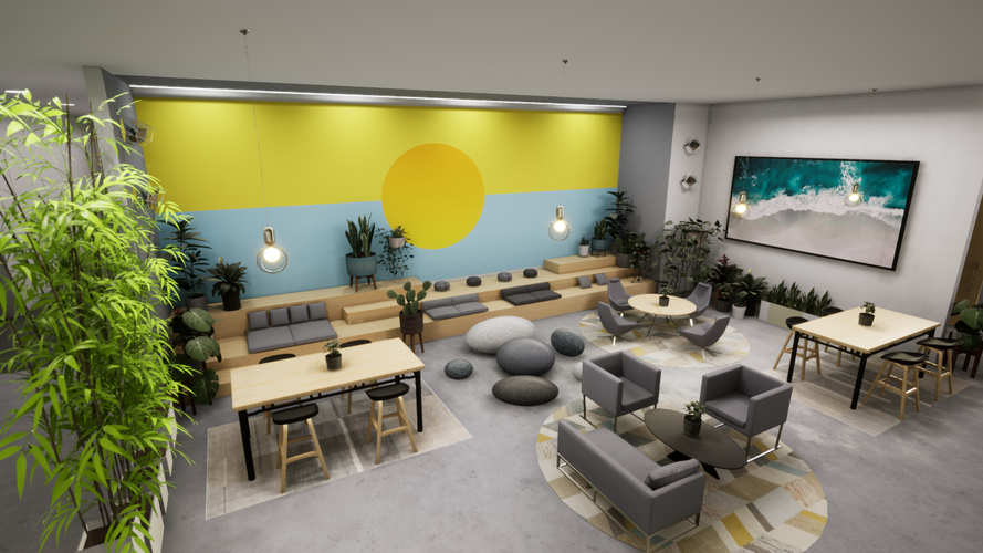 Workplace Design Concept