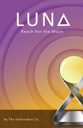 Luna: Desk Lamp Design