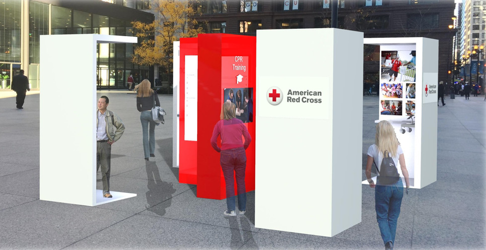 American Red Cross Mobile Marketing Device