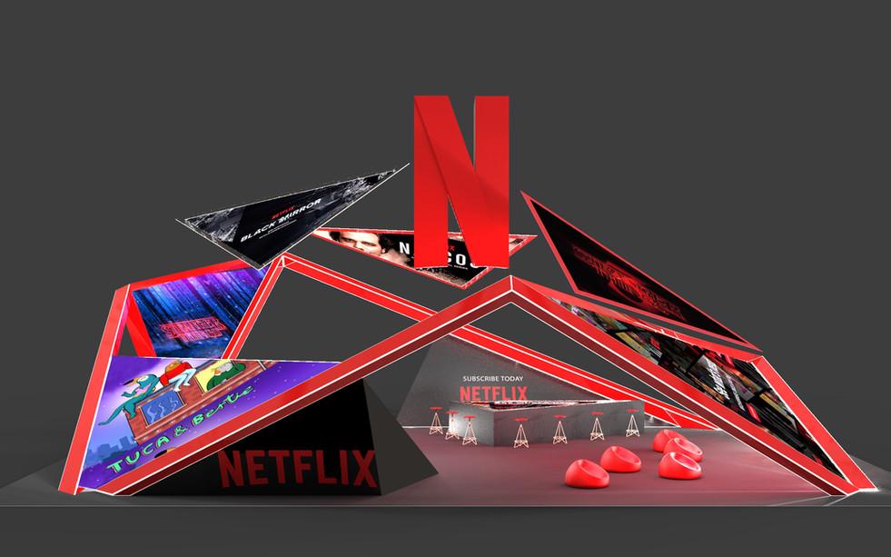 Netflix Exhibition Concept