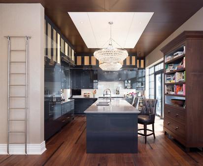 Black Gloss Kitchen