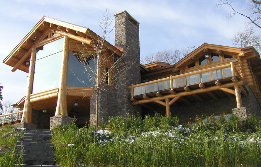 Log home from Lake.jpg