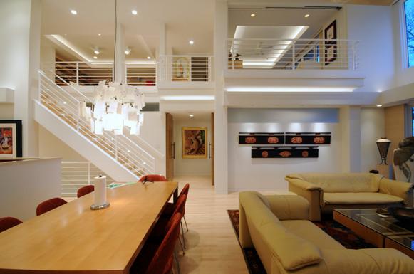 Contemporary Living & Dining Room