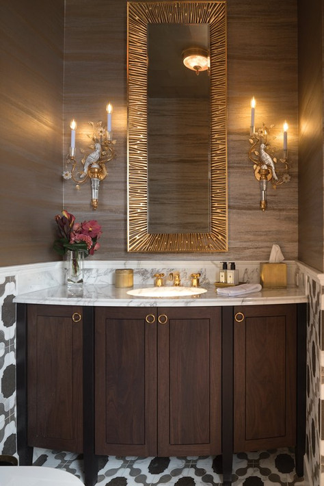 Powder Room Vanity